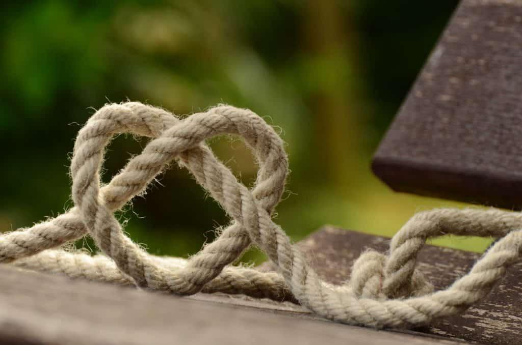Herzknoten im Seil